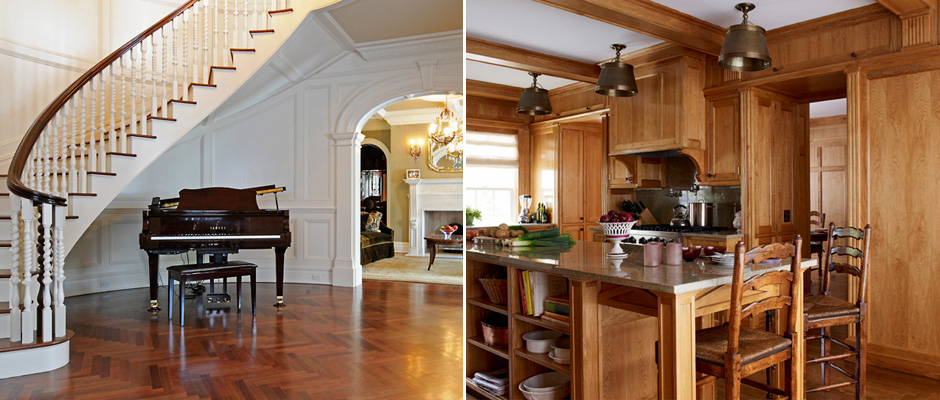 Custom moulding and millwork, Hardwood flooring since 1825